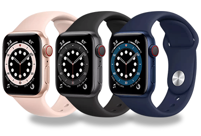 Apple Watch Series 6 in verschiedenen Farben