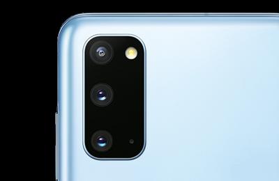 Samsung Galaxy S20 angeschnitten