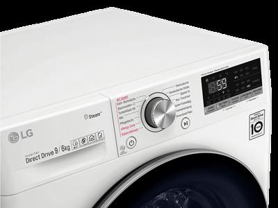 LG Waschtrockner angeschnitten