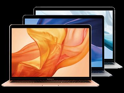 MacBook Air in allen Farben