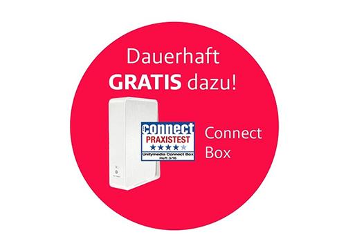 Dauerhaft gratis dazu! Die Unitymedia Connect Box mit herragendem Testergebnis. Jetzt den eazy20 oder eazy50-Tarif buchen und sparen!