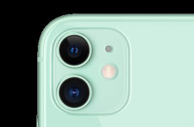 Apple iPhone 11 grün angeschnitten