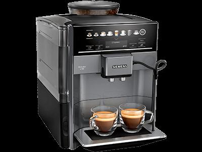 Siemens Kaffeevollautomat EQ.6 plus s100 Seitenansicht