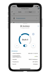 wibutler-App Lüftung