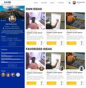 Mockup Projekt Idealsize Nutzerprofil