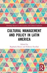 """Cover des Buchs """"Cultural Management and Policy in Latin America"""""""