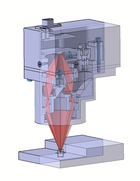 CAD-Modell von dem Sensor RTS-K