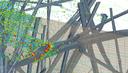 HAAZ-CFD Simulation von Filterdaten auf Mikroskalenebene
