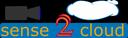 Logo Sense2Cloud mit Wolke und Sensor