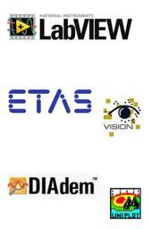 Logos Labview, ETAS und Diadem