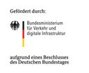 Das Logo des Bundesministeriums für Verkehr und digitale Infrastruktur.