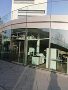 Das Bild zeigt den Eingang zur Mensa am Bildungscampus.