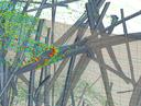 CFD-Simulation-Öltröpfchen-auf-Fasern-eines-Filtermaterials