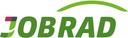Das Logo von Jobrad GmbH in grünen Buchstaben.