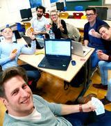 Projektgrupper studentischer Projektstudien im Studiengang Wirtschaftsinformatik
