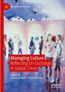 Zu sehen ist das Buchcover mit dem Titel: Managing Culture Reflecting On Exchange In Global Times