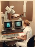 Examonation with the Siemens Angiotron in the year 1984