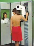"The first ""real"" Siemens mammography system in 1972"
