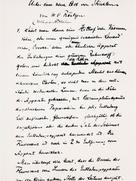 "First page of Röntgen´s handwritten manuscript ""On a New Kind of Rays"""