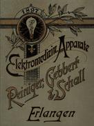 Company catalog from Reiniger, Gebbert & Schall from the year 1897