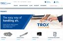 TROX online shop screenshot