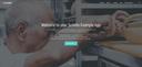 Scrivito example app homepage