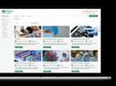 Virtual Events portal example
