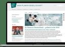Screenshot der Website der Max-Planck-Gesellschaft