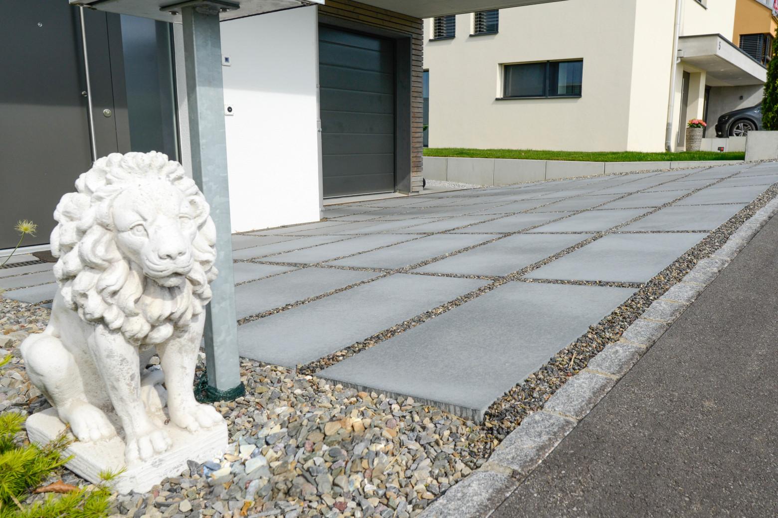 """3 Objekte des Gartenbau Teams """"Gartencenter Guggenbühl"""""""