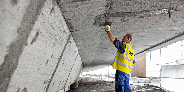 SAKRET Referenz Hochbrücke Völkingen Betoninstandsetzung
