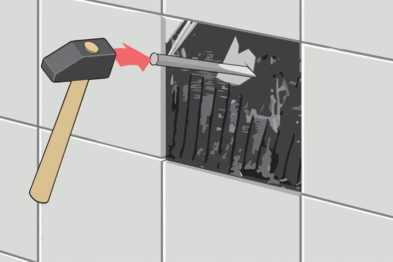 Fliese auf Fliese verlegen Anleitung - Untergrund prüfen und vorbereiten
