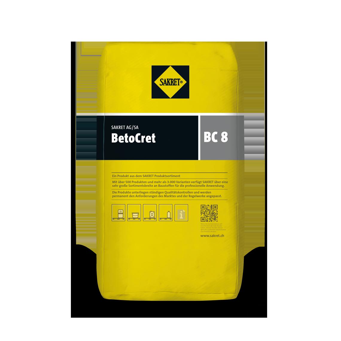 SAKRET Schweiz BetoCret BC8