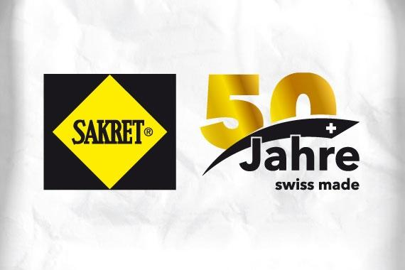 SAKRET Schweiz feiert 50-Jähriges Jubiläum | SAKRET Schweiz