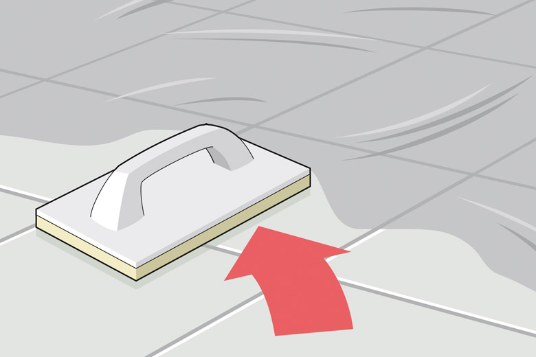 Bodenfliesen reinigen und polieren - Anleitung zum Fliesenverlegen