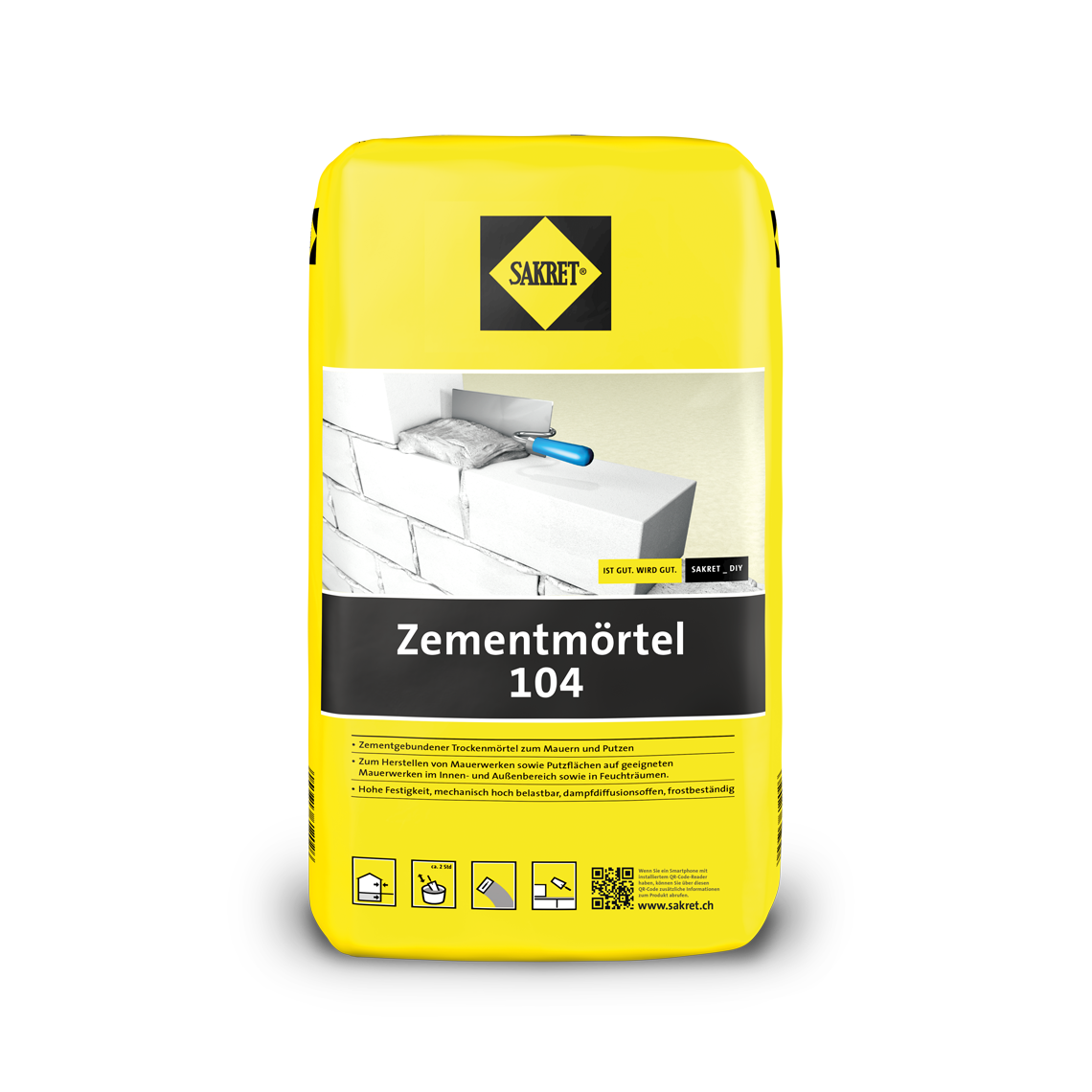 SAKRET Zementmörtel