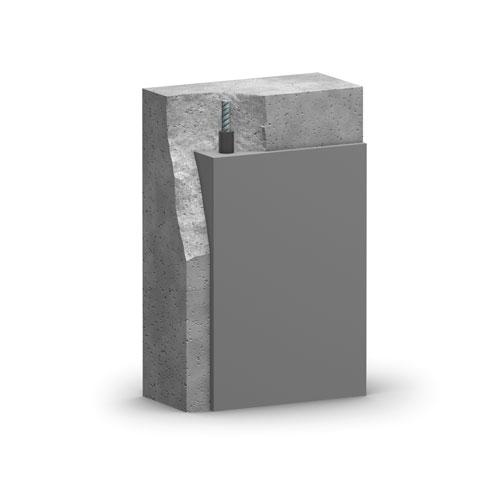 SAKRET PCC-Instandsetzungssystem | 1-komponentig |vertikale, Überkopf-Flächen |Schichtaufbau