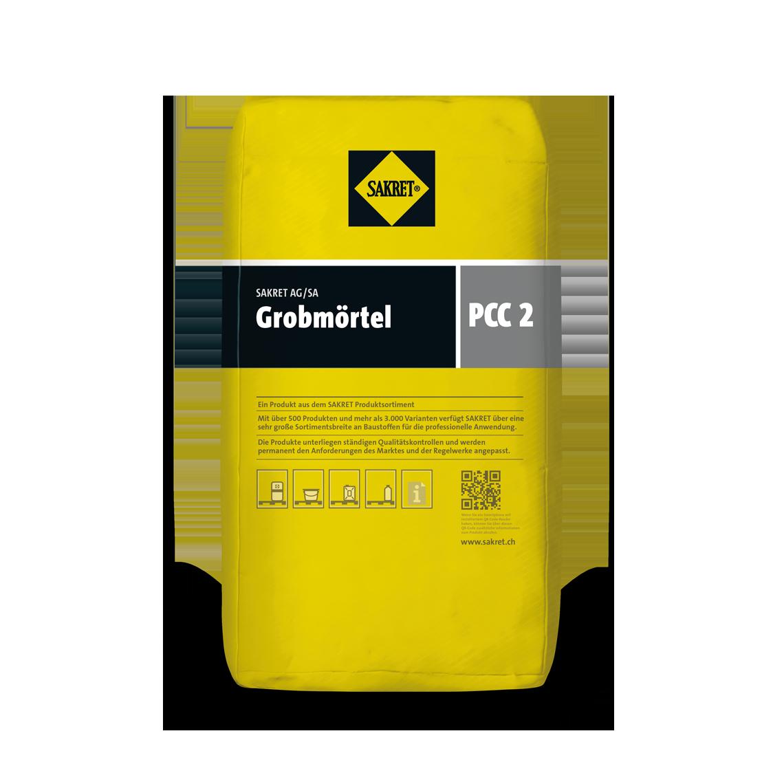 SAKRET ProduktbildGrobmörtel PCC 02