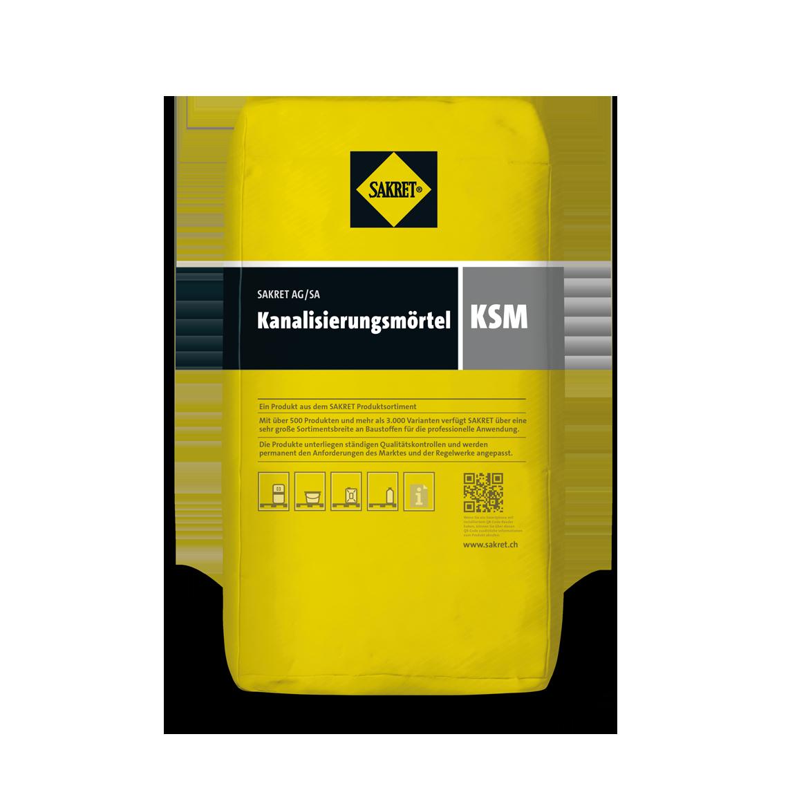SAKRET Schweiz Kanalisierungsmörtel KSM