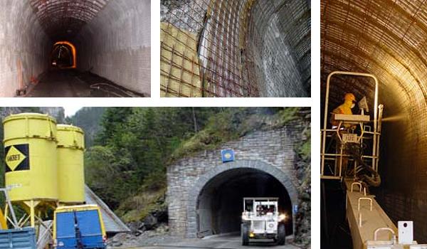 Alte Referenzen | Tunnel Sanierung Tunnel Starlera (Avers)