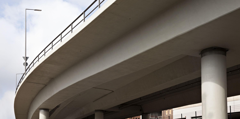 Infrastrukturbau Hochbrücke