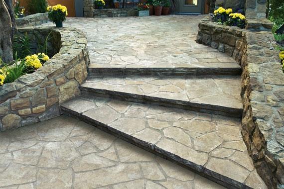 Natursteinmauer selber bauen | Natursteintreppe und -mauer