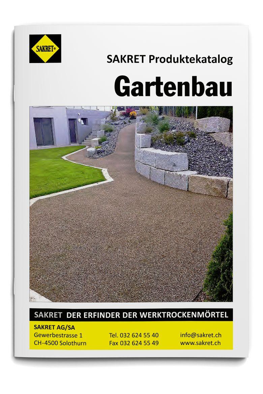 SAKRET Schweiz Lieferprogramm Gartenbau