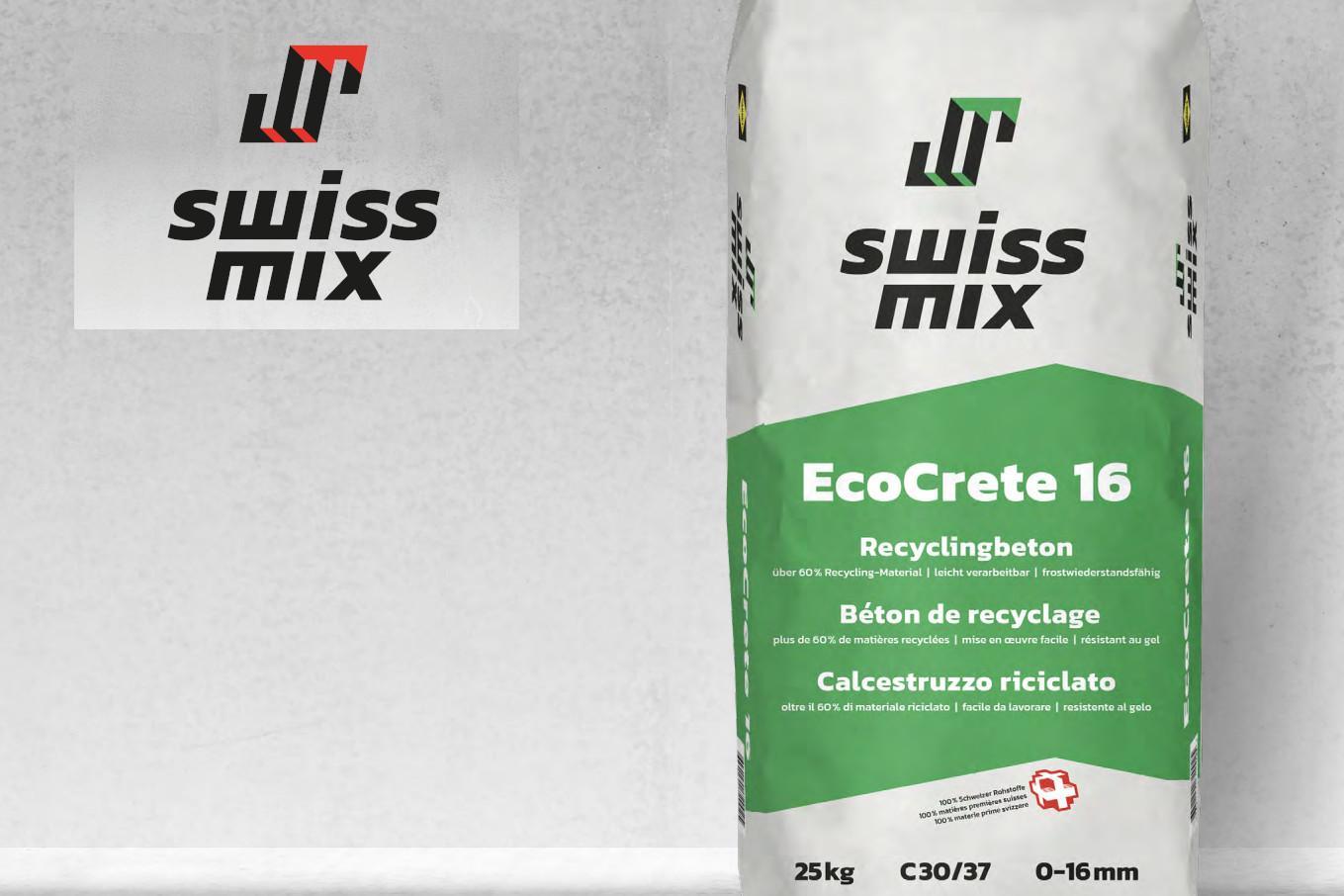 SAKRET Schweiz Swissmix EcoCrete 16