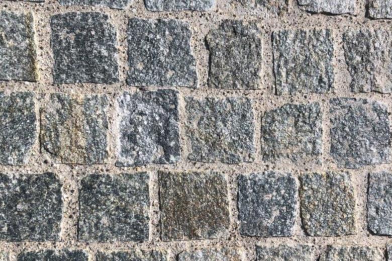 Kopfsteinpflästerung mit Lucerna Granit