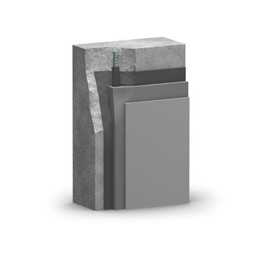 SAKRET PCC-Instandsetzungssystem |1-komponentig |beliebig liegende Flächen | Schichtaufbau