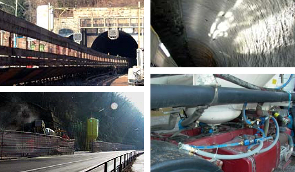 Alte Referenzen | Tunnel SBB Tunnelsanierung Marroggia TI