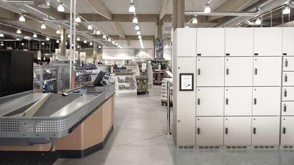 Click4Food - jäähdytetty lokerikko myymälässä