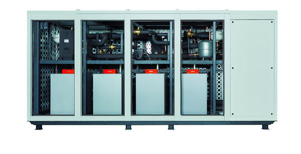 Viessmann ESyCool green system with heatpumps