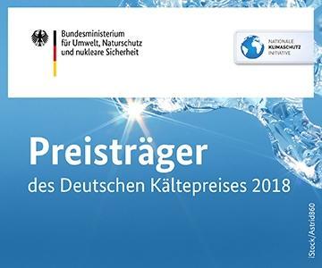 Banner Preisträger des Deutschen Kältepreises 2018