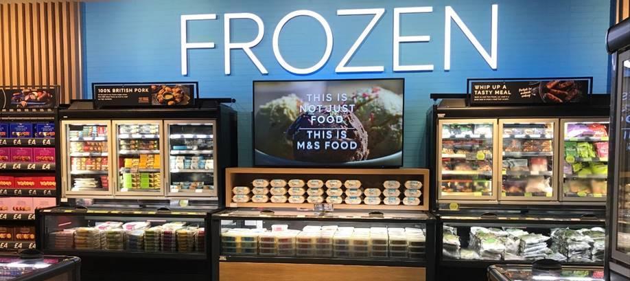 Viessmann refrigeration blog post - Chilled and frozen food categories